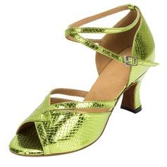 Femmes Similicuir Talons Sandales Latin Chaussures de danse