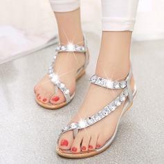 Women's Leatherette Wedge Heel Sandals Peep Toe Slingbacks With Rhinestone Jewelry Heel Elastic Band shoes