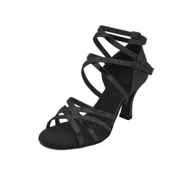 Women's Leatherette Heels Sandals Salsa Dance Shoes
