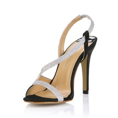 Leatherette Stiletto Heel Sandals Slingbacks shoes