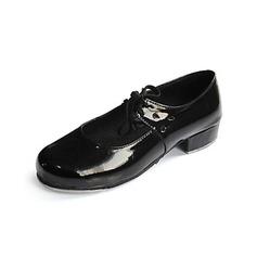 Women's Kids' Patent Leather Flats Tap Ballroom Dance Shoes