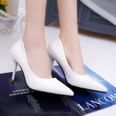 Women's Leatherette Stiletto Heel Pumps