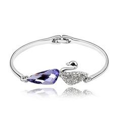 Alloy Crystal Ladies' Bracelets & Anklets