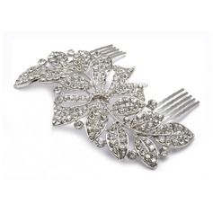 Gorgeous Rhinestone Alloy Hair Combs Headpiece
