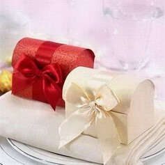 Treasure Chest Favor Boxes With Ribbons (Set of 12)