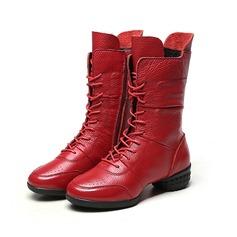 Donna Vera pelle Sneakers Sneakers con Allacciato Scarpe da ballo