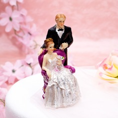 The Newlywed Resin Wedding Cake Topper