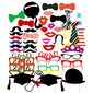 Photo Booth Dikmeler Kartı Kağıdı Komik Maske Photo Booth Dikmeler Düğün Süslemeleri (131085895)